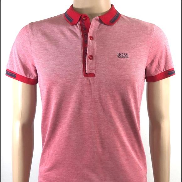 c5da5f99f Hugo Boss Other - Hugo Boss Paule 4 Men's Polo Shirt Slim Fit S/Slee